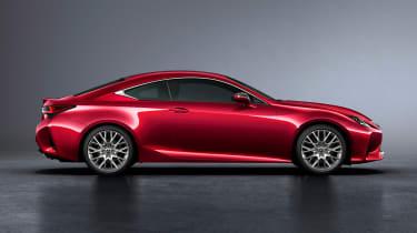 Lexus RC - side