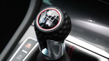 Volkswagen Golf GTI dials golfball gearknob