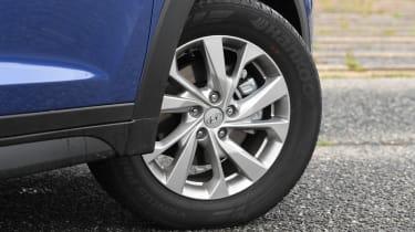 Hyundai Tucson - wheel