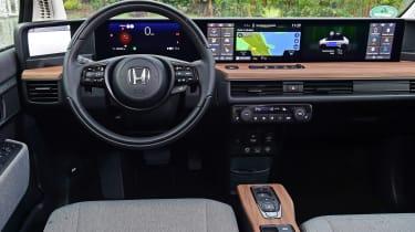 Honda e - dash