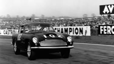 Aston Martin DB4 GT continuation - tracking