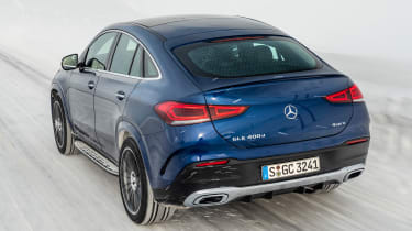 Mercedes GLC 400 d Coupe - rear cornering