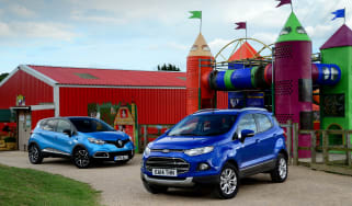 King of the castle: Ford EcoSport vs Renault Captur