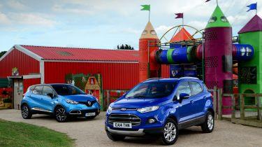 King of the castle: Ford EcoSport vs Renault Captur