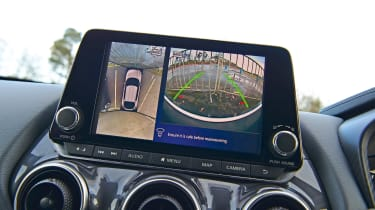 Nissan Juke 360-degree camera