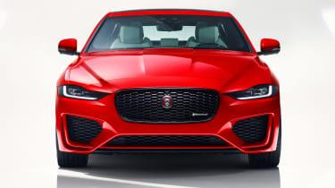 Jaguar XE - studio full front