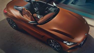 BMW Z4 Roadster concept cockpit