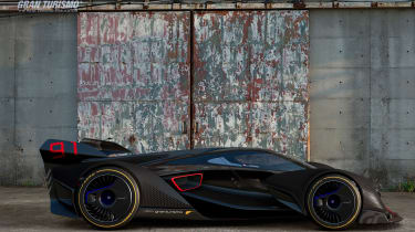 McLaren Ultimate Vision Gran Turismo - side