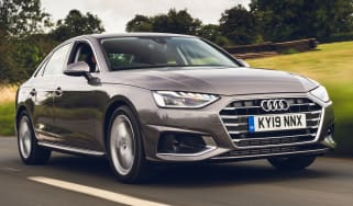 Audi A4 Saloon 35 TFSI S tronic Sport - front 3/4 tracking