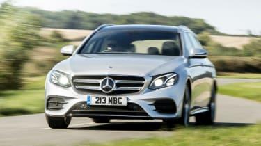 Mercedes E 400 d Estate - full front