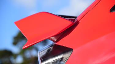 Honda Civic Type R long-term test review - wing