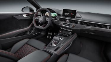 Audi RS5 interior side