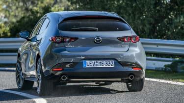 Mazda 3 - rear cornering