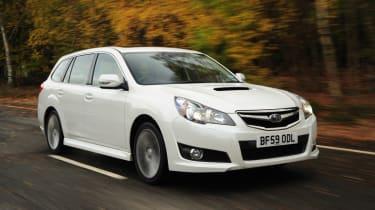 Subaru Legacy front tracking