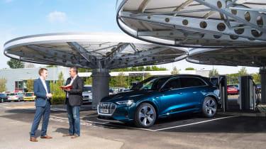 Audi e-tron long termer - first report header
