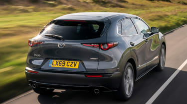 Mazda CX-30 - rear tracking