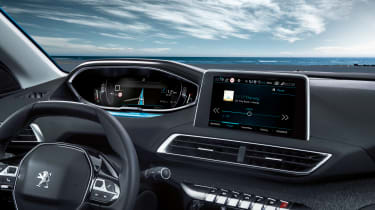 New Peugeot 5008 2016 - dashboard