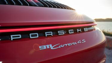 New Porsche 911 Cabriolet 2019 badge