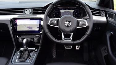 Twin test - VW Arteon - cockpit