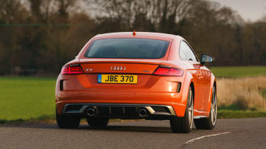 Audi TT Coupe - rear cornering