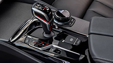 BMW M5 Competition - transmission