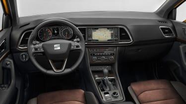 SEAT Ateca SUV 2016 - dashboard