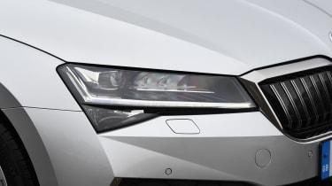 Skoda Superb iV - headlight