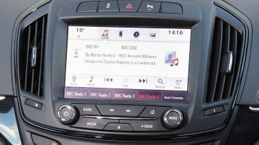 Vauxhall Insignia - infotainment