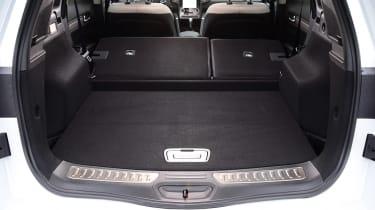 Renault Koleos - boot seats down
