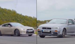 Skyline vs GT-R