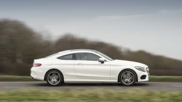 Mercedes C-Class Coupe - side