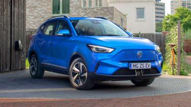 MG ZS EV facelift - front