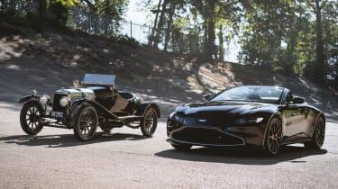 Aston Martin A3 Vantage Roadster - front/side