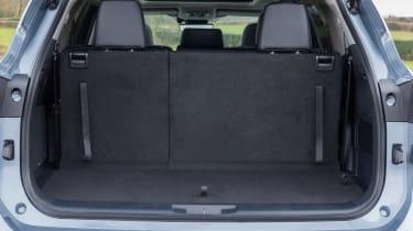 Toyota Highlander - boot seats up