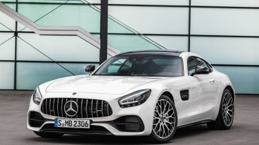 Mercedes-AMG GT - front static