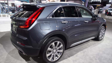 Cadillac XT4 - New York rear