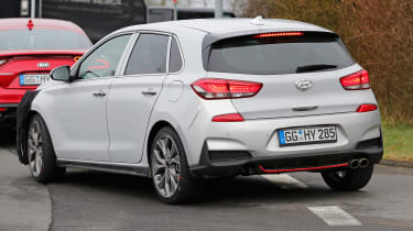 Hyundai i30 N Sport spy shots  -rear