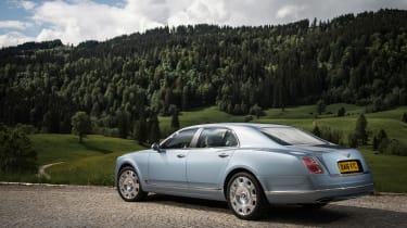 Bentley Mulsanne 2016 - rear three quarter