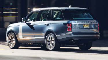 New Range Rover PHEV 2017 review - rear action
