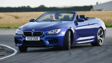 BMW M6 Convertible front