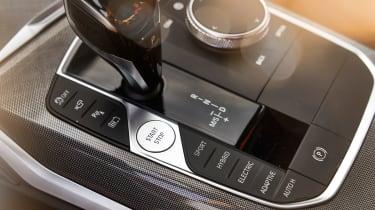 BMW 330e - centre console
