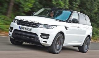 Range Rover Sport - front