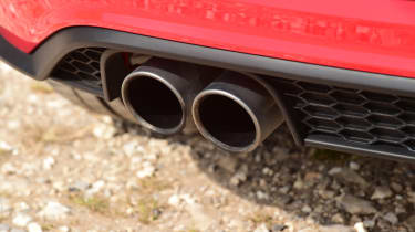 Volkswagen Polo GTI - exhaust