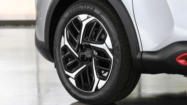 Citroen e-C4 - wheels