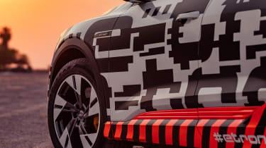 Audi e-tron Prototype review - wheel