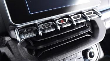 Alpine A110 - buttons