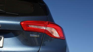 Ford Focus diesel Titanium - taillight