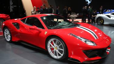 New Ferrari 488 Pista front static
