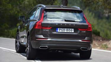 New Volvo XC60 - rear cornering