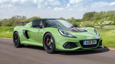 Lotus Exige Sport 410 - front action
